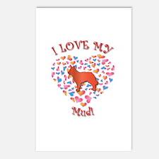 Love Mudi Postcards (Package of 8)