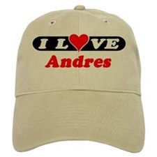 I Love Andres Baseball Cap
