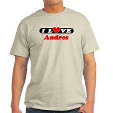 I Love Andres T-Shirt