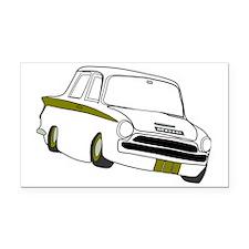 Lotus Cortina Rectangle Car Magnet