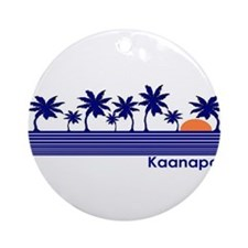 Kaanapali, Hawaii Ornament (Round)