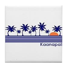 Kaanapali, Hawaii Tile Coaster