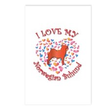 Love Buhund Postcards (Package of 8)