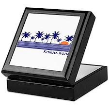 Kailua-Kona, Hawaii Keepsake Box