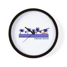 Kailua-Kona, Hawaii Wall Clock