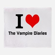 I love The Vampire Diaries Throw Blanket