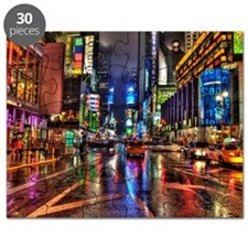 Times Square at night Puzzle