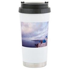 Orthodox Greek church o Travel Mug