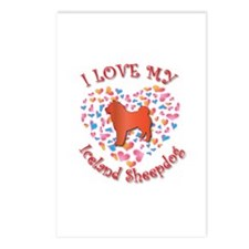 Love Sheepdog Postcards (Package of 8)