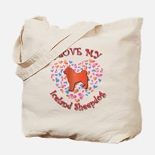 Love Sheepdog Tote Bag