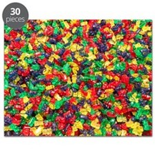 Candy, Gummi bears Puzzle