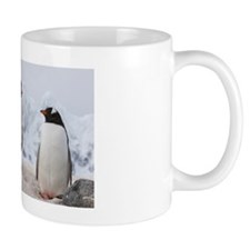Gentoo Penguin courting Mug