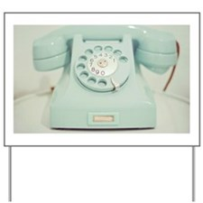 Vintage telephone Yard Sign
