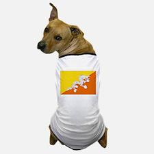 Bhutanese flag Dog T-Shirt