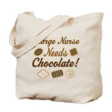 Charge Nurse Chocolate Gift Tote Bag