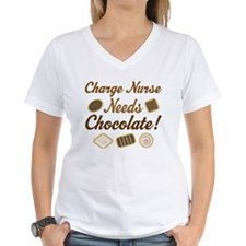 Charge Nurse Chocolate Gift Shirt