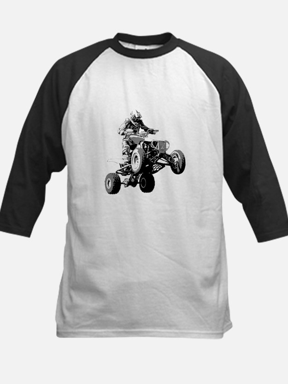 ATV Racing Kids Baseball Jersey