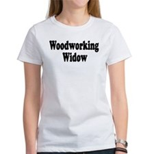 Woodworking Widow Tee