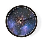 Starburst Cluster Wall Clock