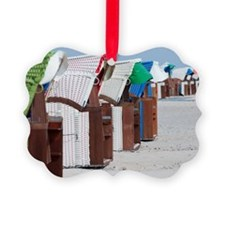 Beach chairs Ornament
