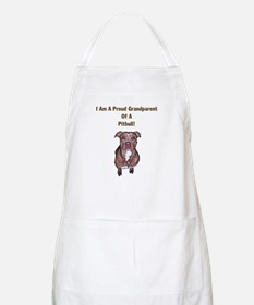 Proud Pitbull Grandparent BBQ Apron