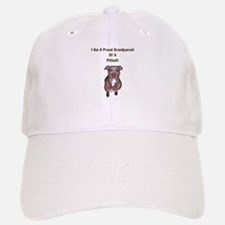 Proud Pitbull Grandparent Baseball Baseball Cap