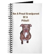 Proud Pitbull Grandparent Journal