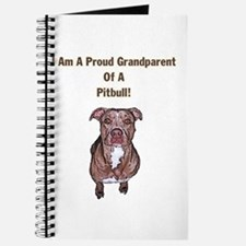 Proud Pitbull Grandparent Journal