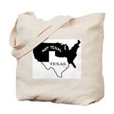 Texas / Not Texas Tote Bag