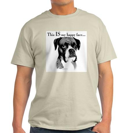 Boxer Happy Face Light T-Shirt