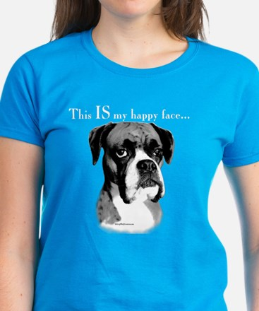 Boxer Happy Face Tee