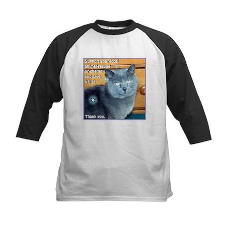 """Animal Rescue"" Kids Baseball Jersey"