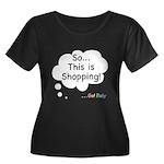 The Retail Therapy Women's Plus Size Scoop Neck Da