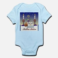 Judaica Shabbat Shalom Body Suit