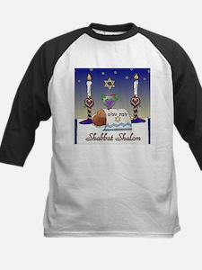 Judaica Shabbat Shalom Baseball Jersey