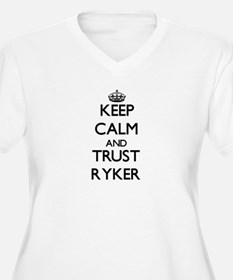 Keep Calm and TRUST Ryker Plus Size T-Shirt