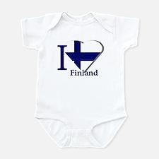 I love Finland Infant Bodysuit