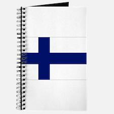 Finland Flag Journal