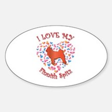 Love Spitz Oval Decal