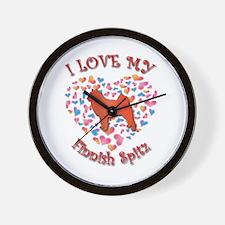 Love Spitz Wall Clock