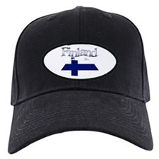 Finlad flag ribbon Baseball Hat