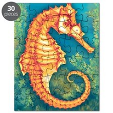 Illustration of Seahorse Puzzle
