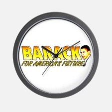 Barack For The Future Wall Clock