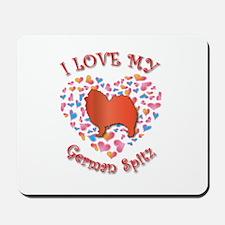 Love Spitz Mousepad