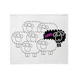 Black sheep Blankets