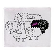 Black Sheep (Love) | Throw Blanket