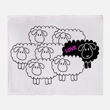 Black Sheep (Love) | Throw Blanket