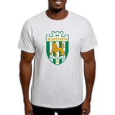 T-Shirt Lviv Ukraine Karpati soccer, futbol