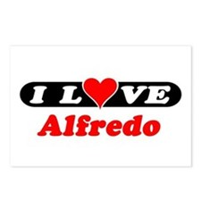 I Love Alfredo Postcards (Package of 8)