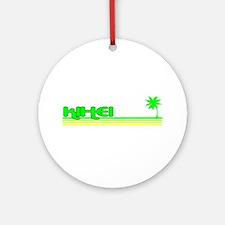 Kihei, Hawaii Ornament (Round)